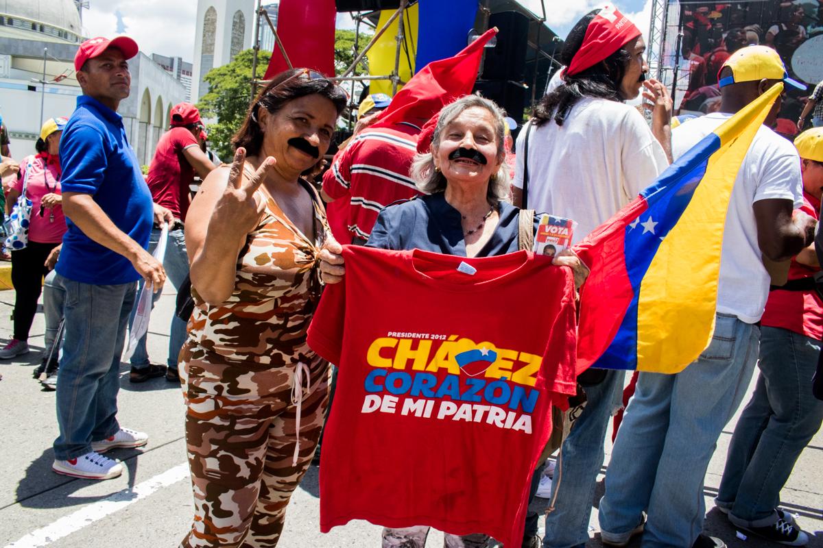 chavismo marcha 21 de agosto