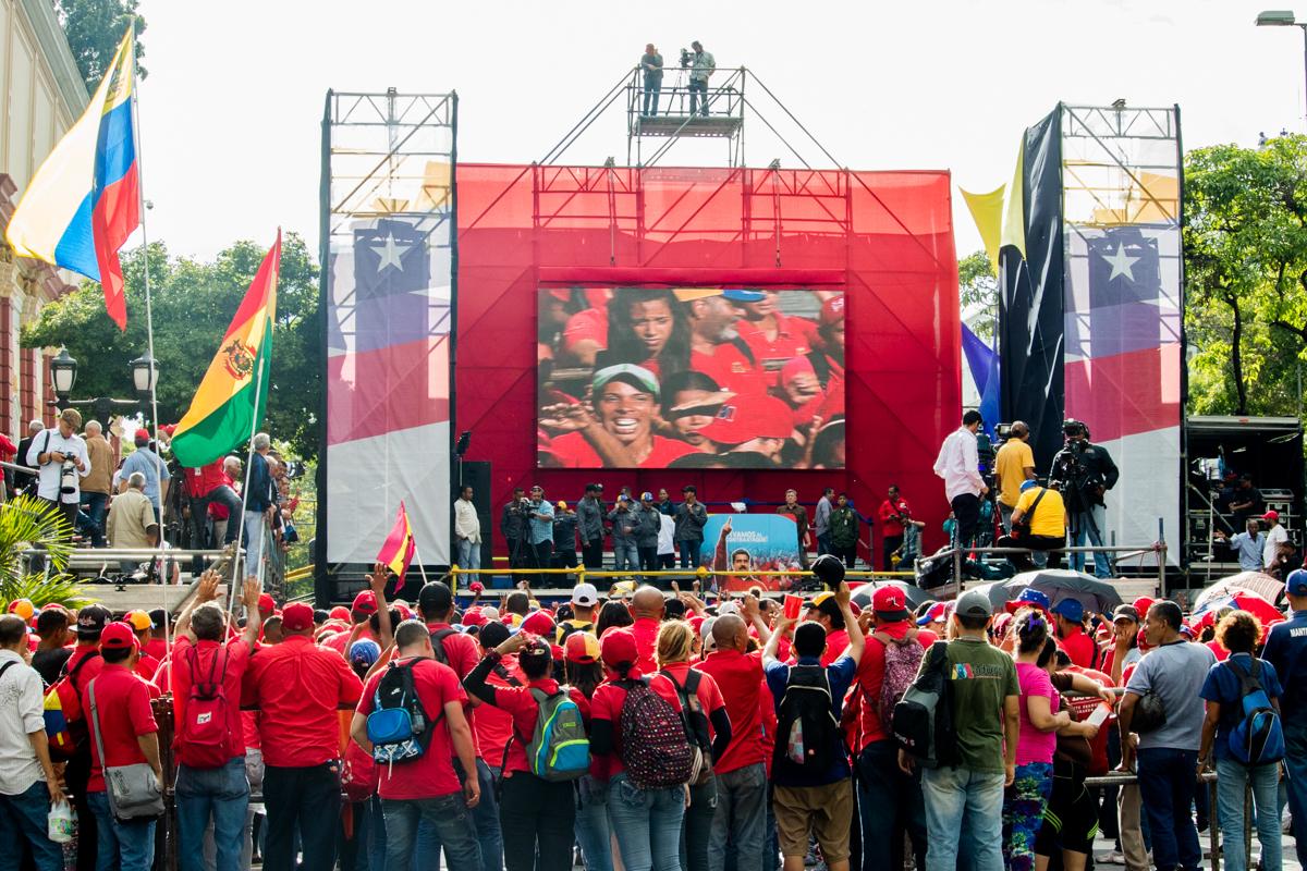 chavismo marchó