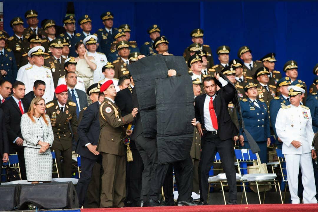 Capturan a seis implicados en presunto ataque contra Nicolás Maduro