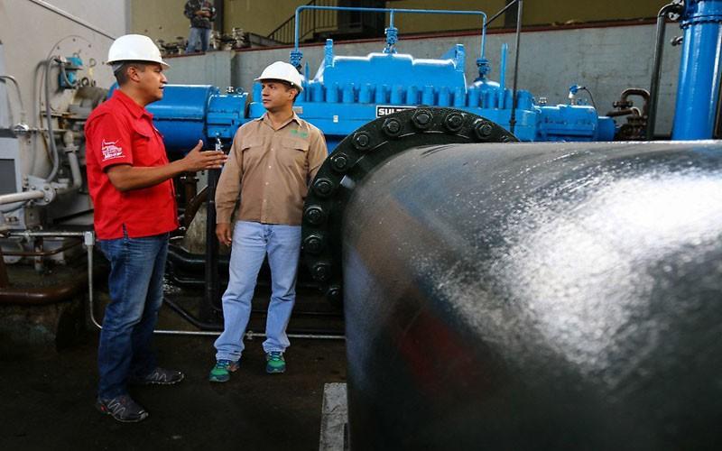 """A """"paso de tortuga"""" avanzó mantenimiento de sistemas de bombeo de agua del país en 2017"""