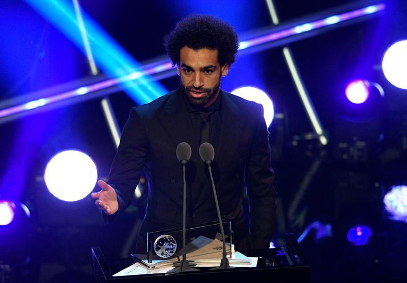 Mohamed Salah gana premio puskás efe