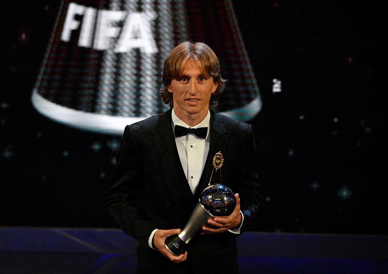 Luka Modric the best fifa efe