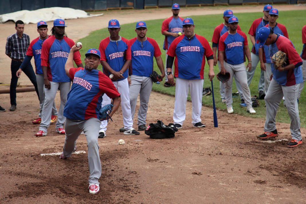 béisbol venezolano entrenamientos