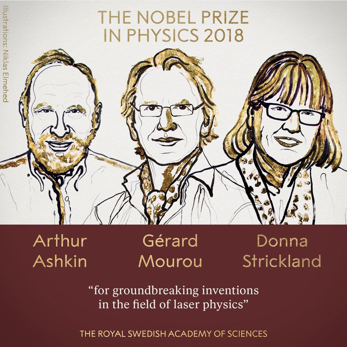 Premio Nobel de Física 2018