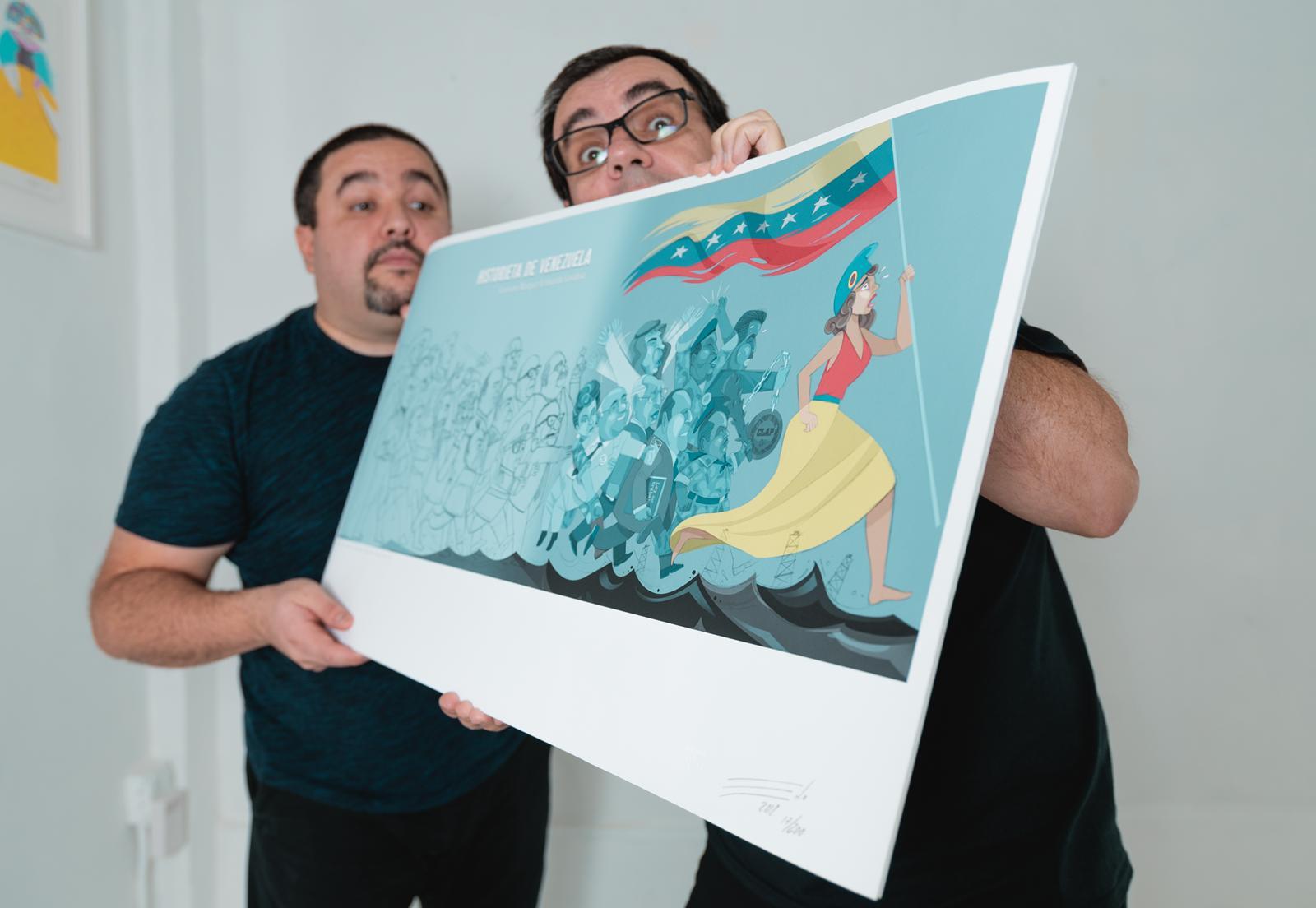 Historieta de Venezuela: de Macuro a Maduro, el nuevo libro ilustrado de Edo y Laureano - Efecto Cocuyo