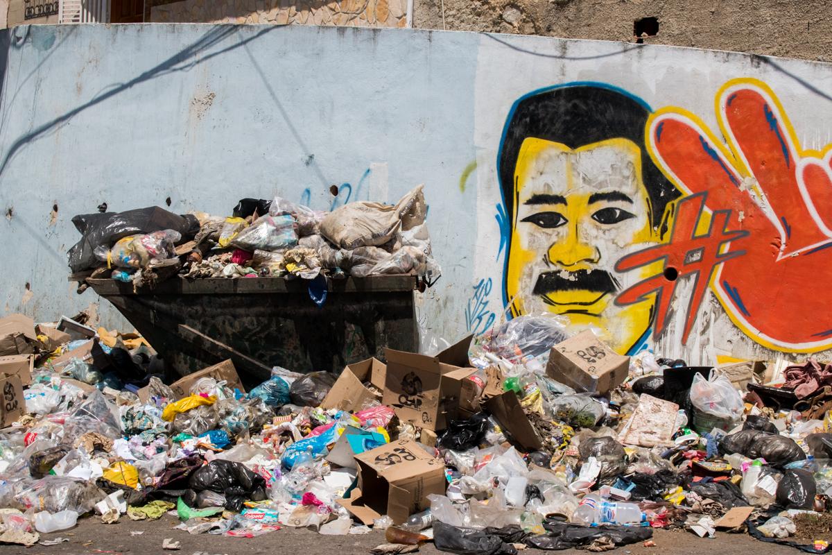 Basura en Caracas
