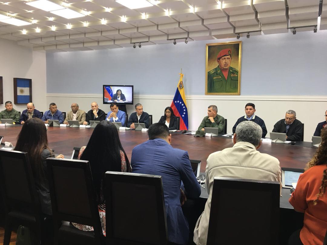 Inamovilidad laboral-Maduro-Delcy Rodriguez-Decreto