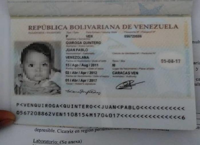 Madre ruega a Maduro prórroga del pasaporte de su hijo para ser operado urgente en Chile