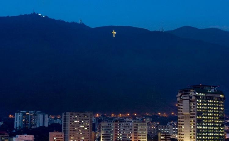 La cruz de la navidad