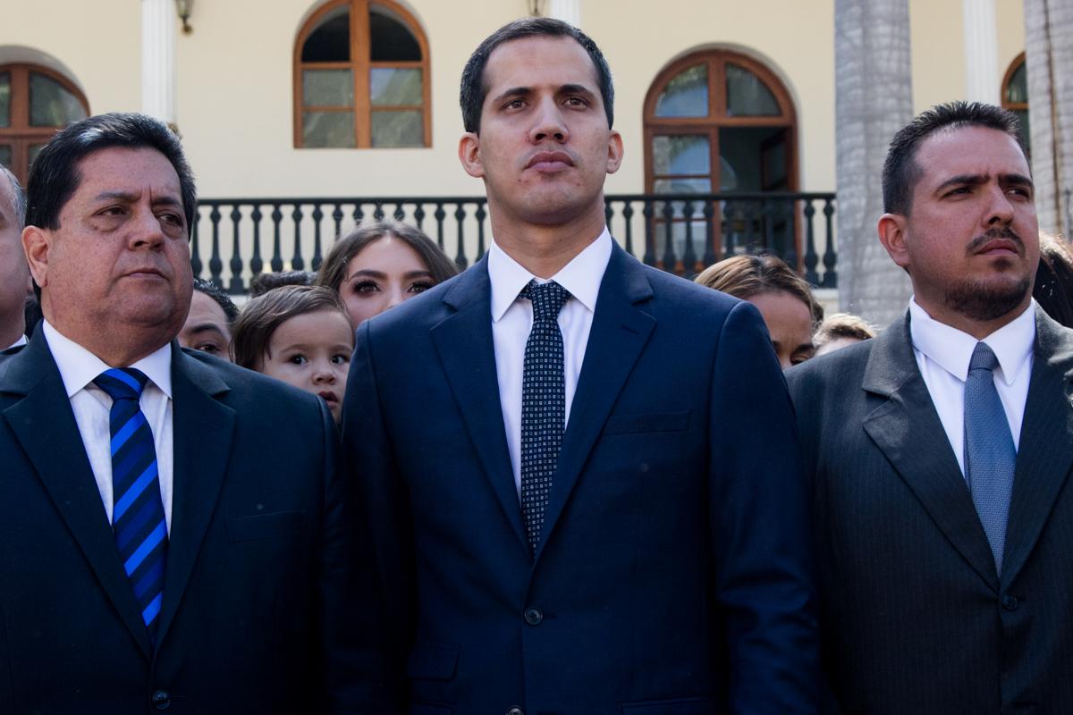 Juan Guaidó 5 de enero de 2019 efecto cocuyo