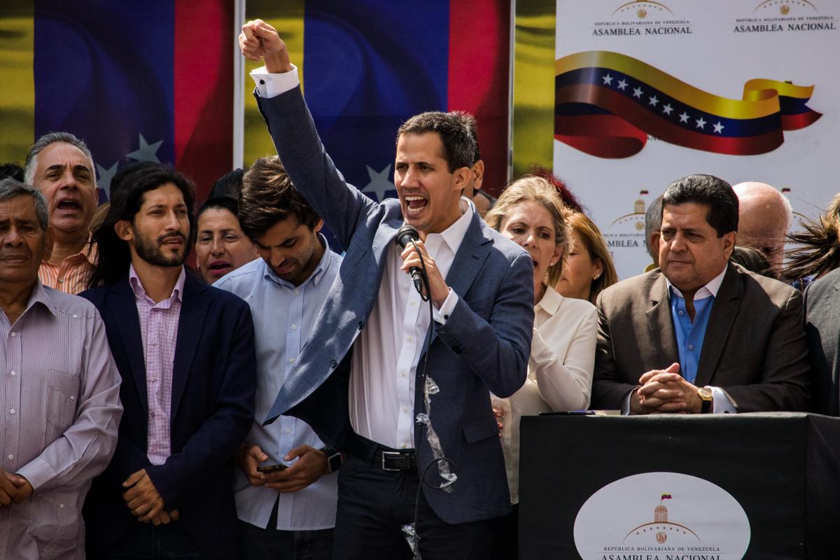 Juan Guaidó 11 de enero efecto cocuyo