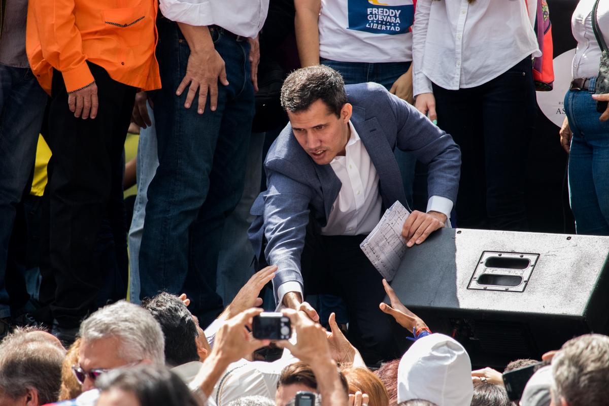 Juan Guaidó 11 de enero de 2019
