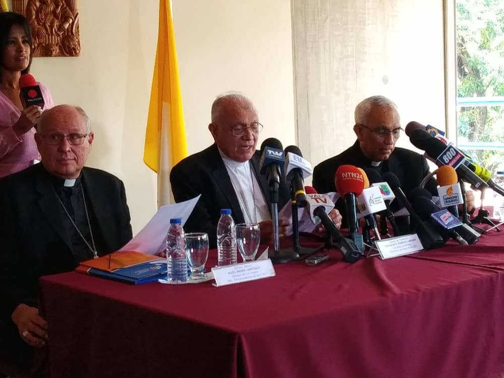 Conferencia Episcopal Obispos-CEV-Baltazar Porras-elecciones 20 mayo