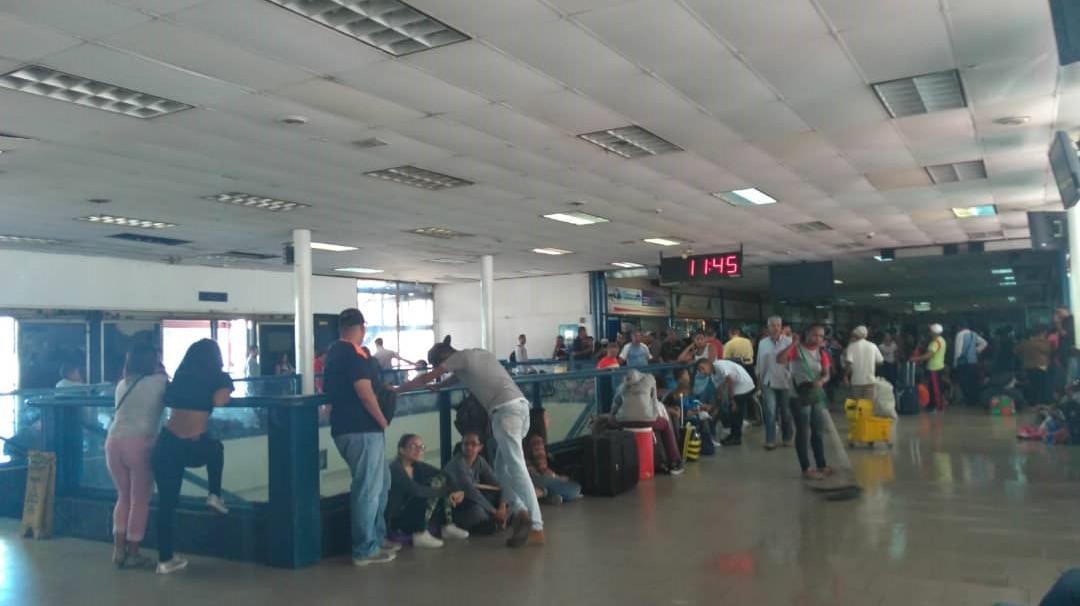 Terminal de la Bandera-DInero en efectivo-3 enero-pasajes