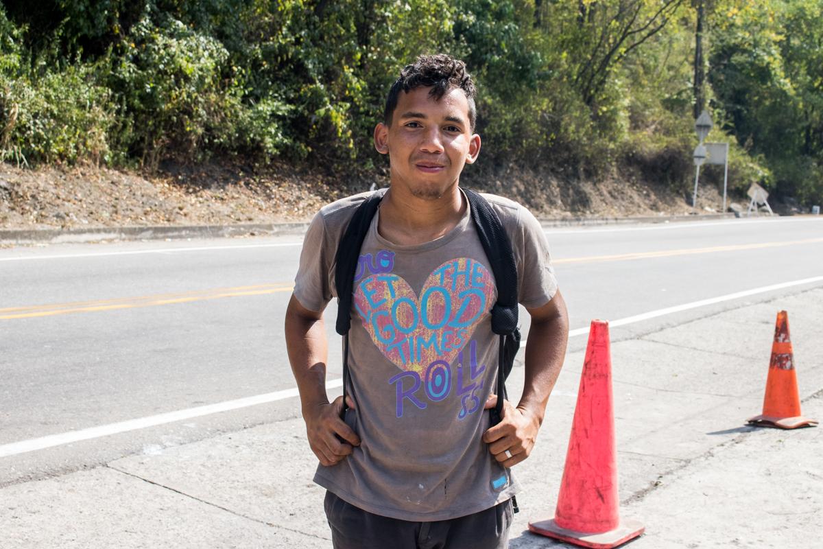 Johnny Aliendres migrante venezolano pamplona febrero 2019