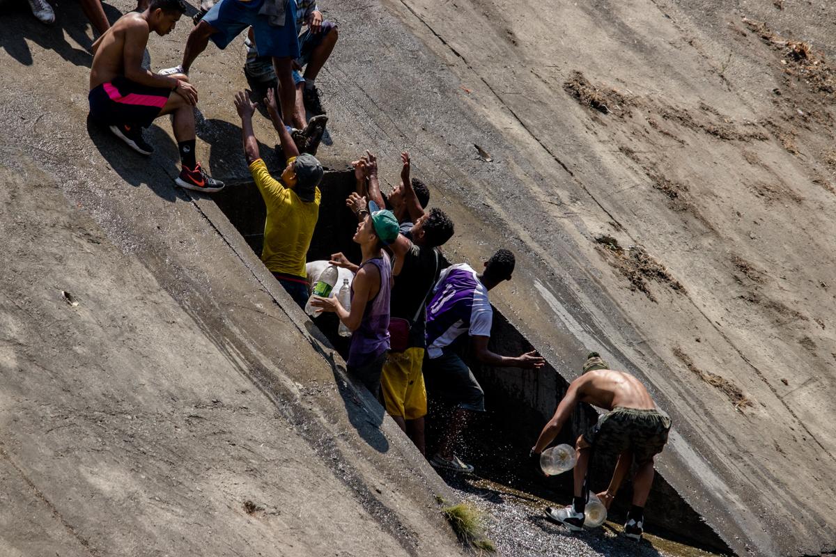 Caracas sin agua y con electricidad parcial