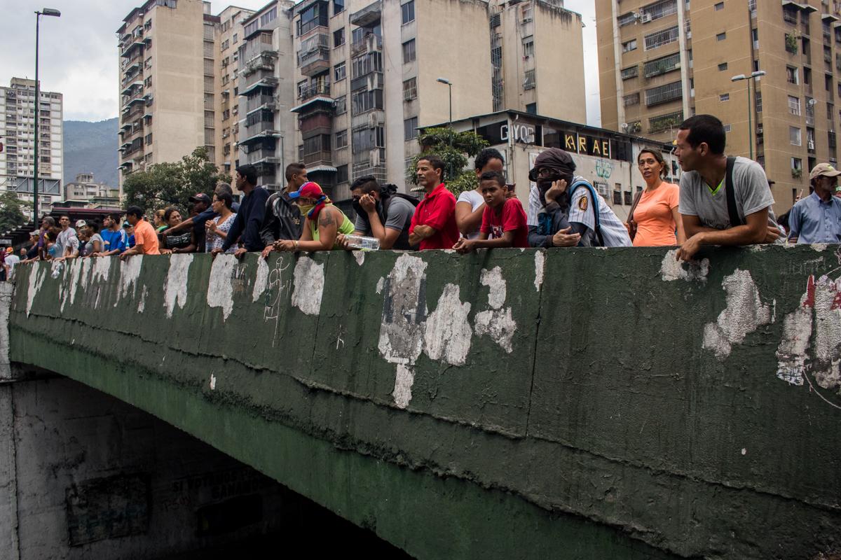 protestan centro de caracas