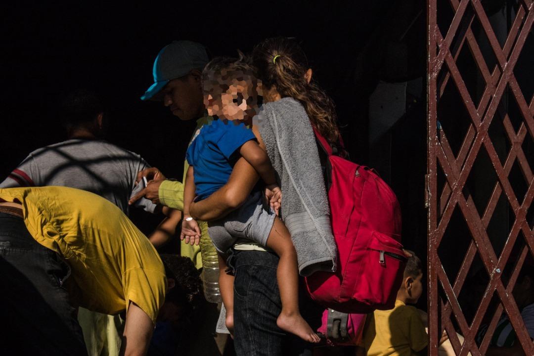 Caminantes venezolanos - hijos