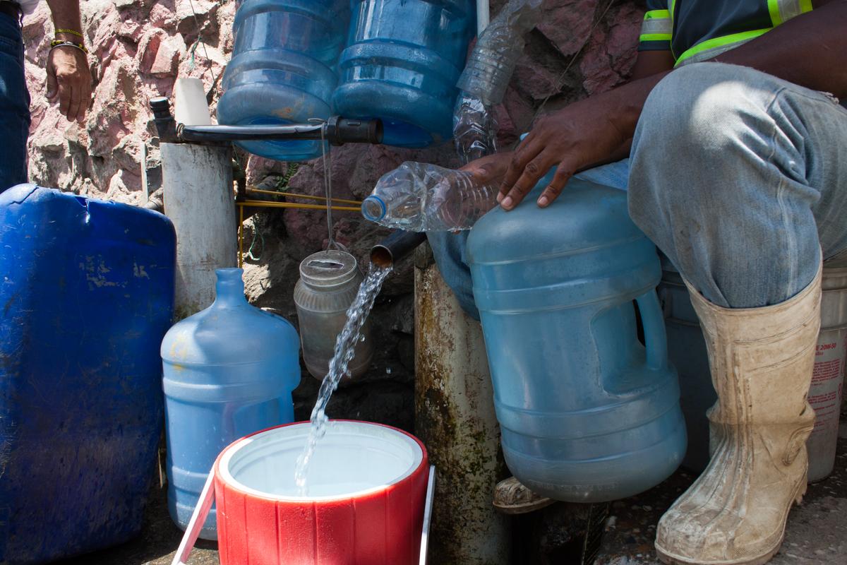 parasitos por agua contaminada
