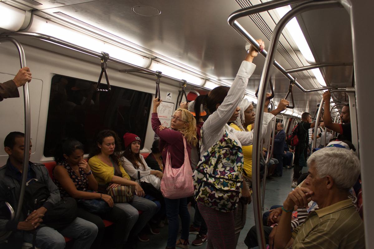 Chacaito-Linea 1-Metro de Caracas-falla
