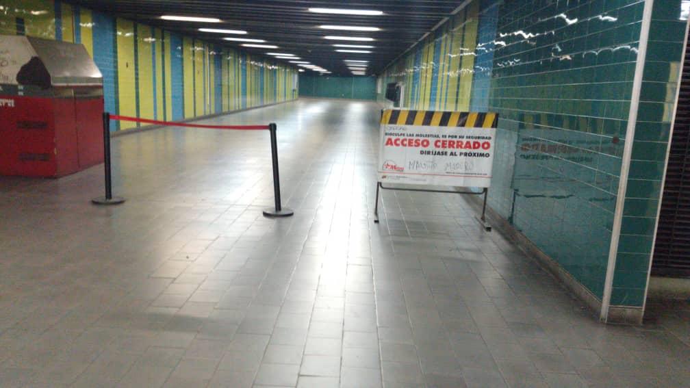 falla de energía-Metro de Caracas-julio