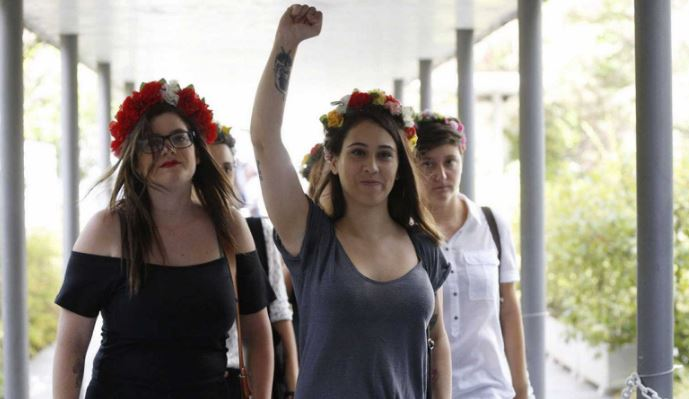 Activistas de Femen