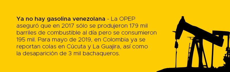 Chaim Bucarán gasolina contrabando