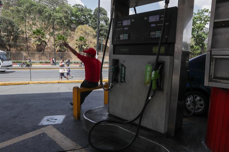 Crisis de gasolina en Venezuela