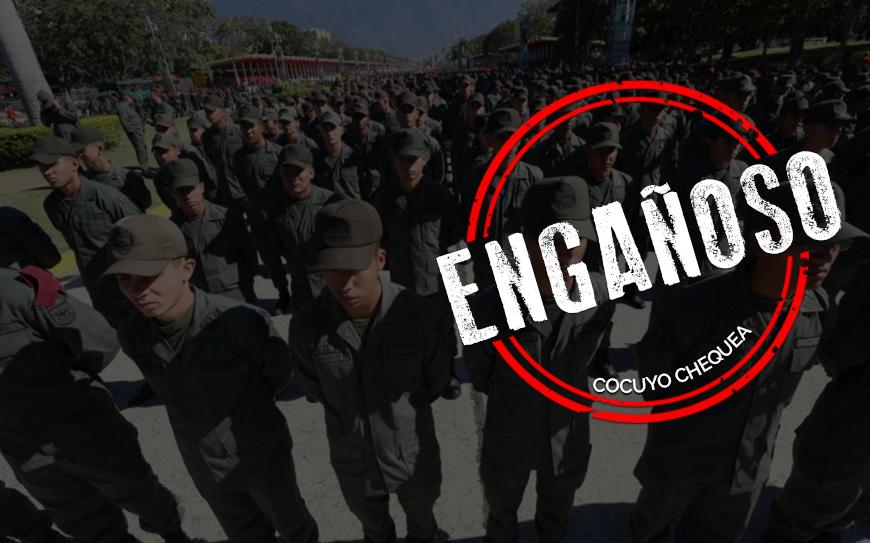 """La verdad sobre el audio que dice que la """"intervención militar será en 72 horas"""""""