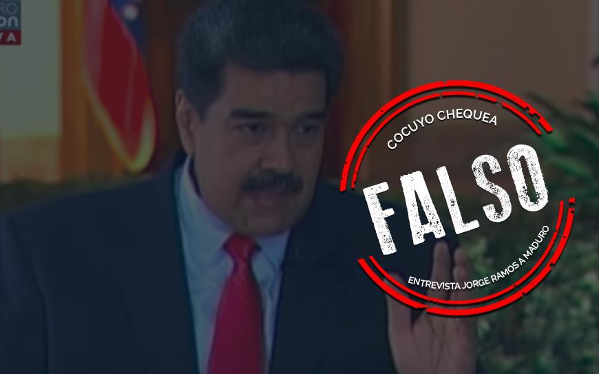 Dos mentiras y una verdad que dijo Maduro sobre Leopoldo López