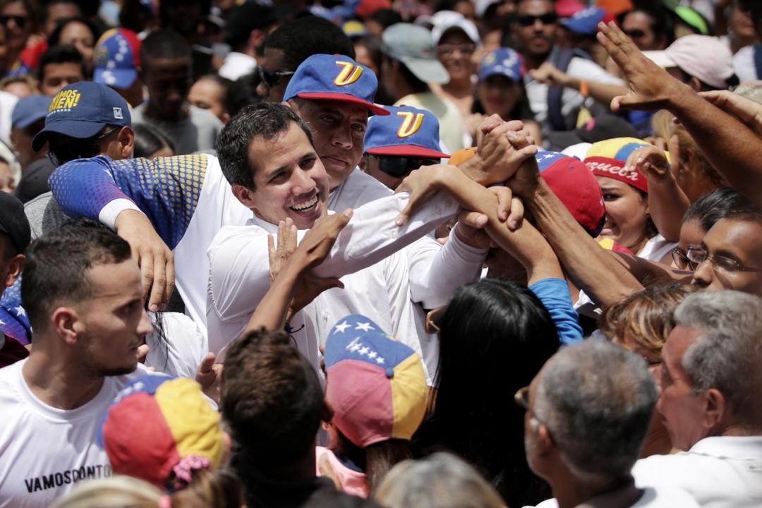 """Guaidó anuncia """"gran convocatoria de calle en toda Venezuela"""" para el #5Jul"""
