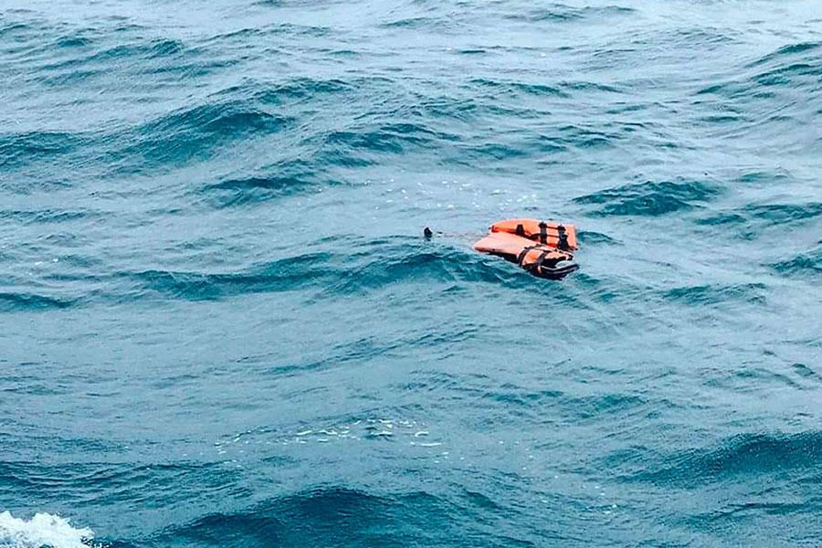 Un bote con migrantes se volcó en las costas de Libia