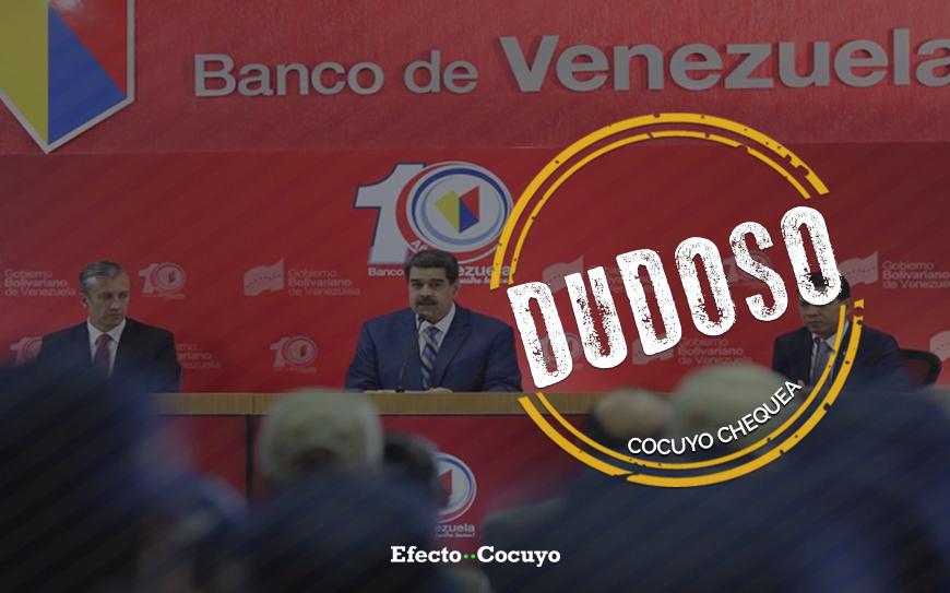 ¿Es posible que el 90% de los venezolanos estén bancarizados?
