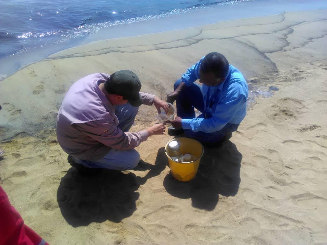 Muestras agua derrame Carabobo
