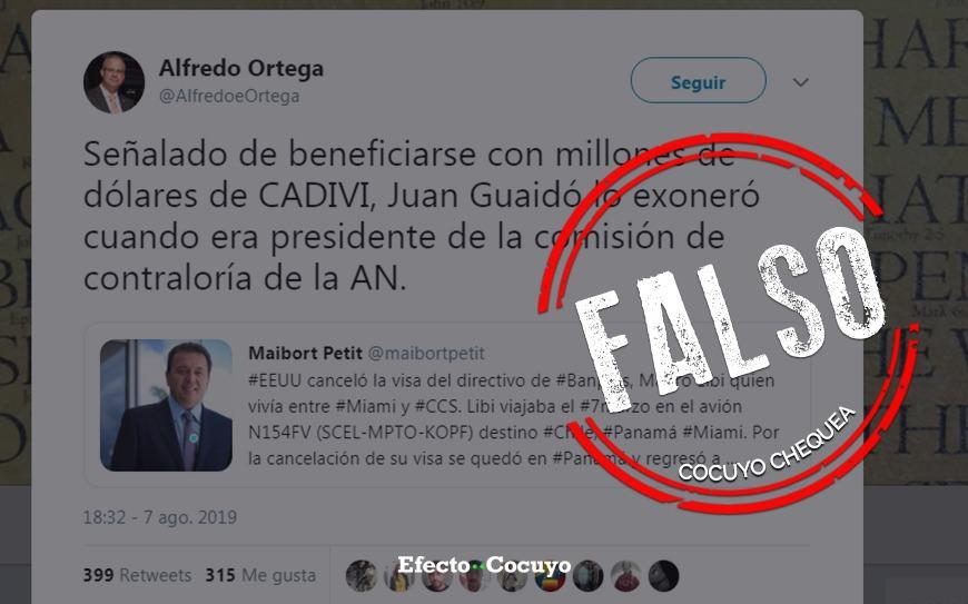 ¿Guaidó presidió Comisión de Contraloría cuando Mauro Libi fue investigado? #CocuyoChequea