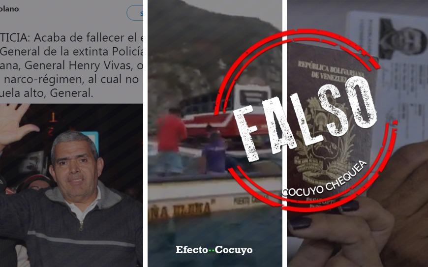Tres de las mentiras más repetidas esta semana en Venezuela #CocuyoChequea
