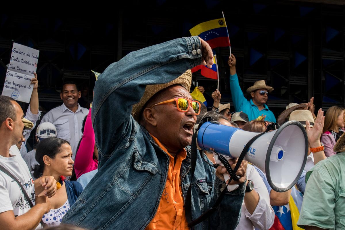 Robert Franco, sindicalista de carúpano