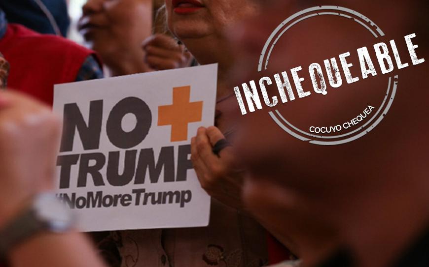Número de firmas que recolectó el chavismo contra Trump son inchequeables