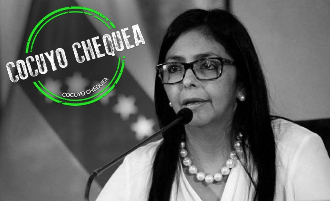 Lo cierto, dudoso y falso que dijo Delcy Rodríguez en la Asamblea General de la ONU
