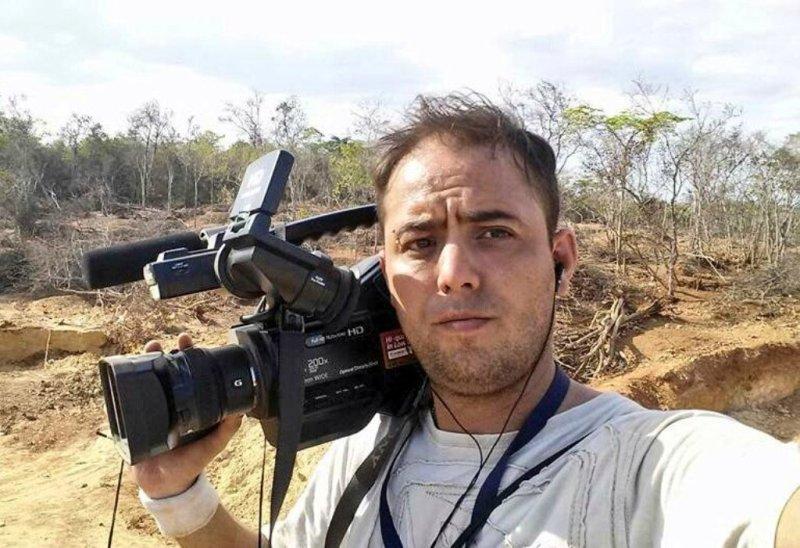 El reportero gráfico Jesús Medina Ezaine tiene más de un año preso