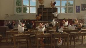 Gallinas en las escuelas