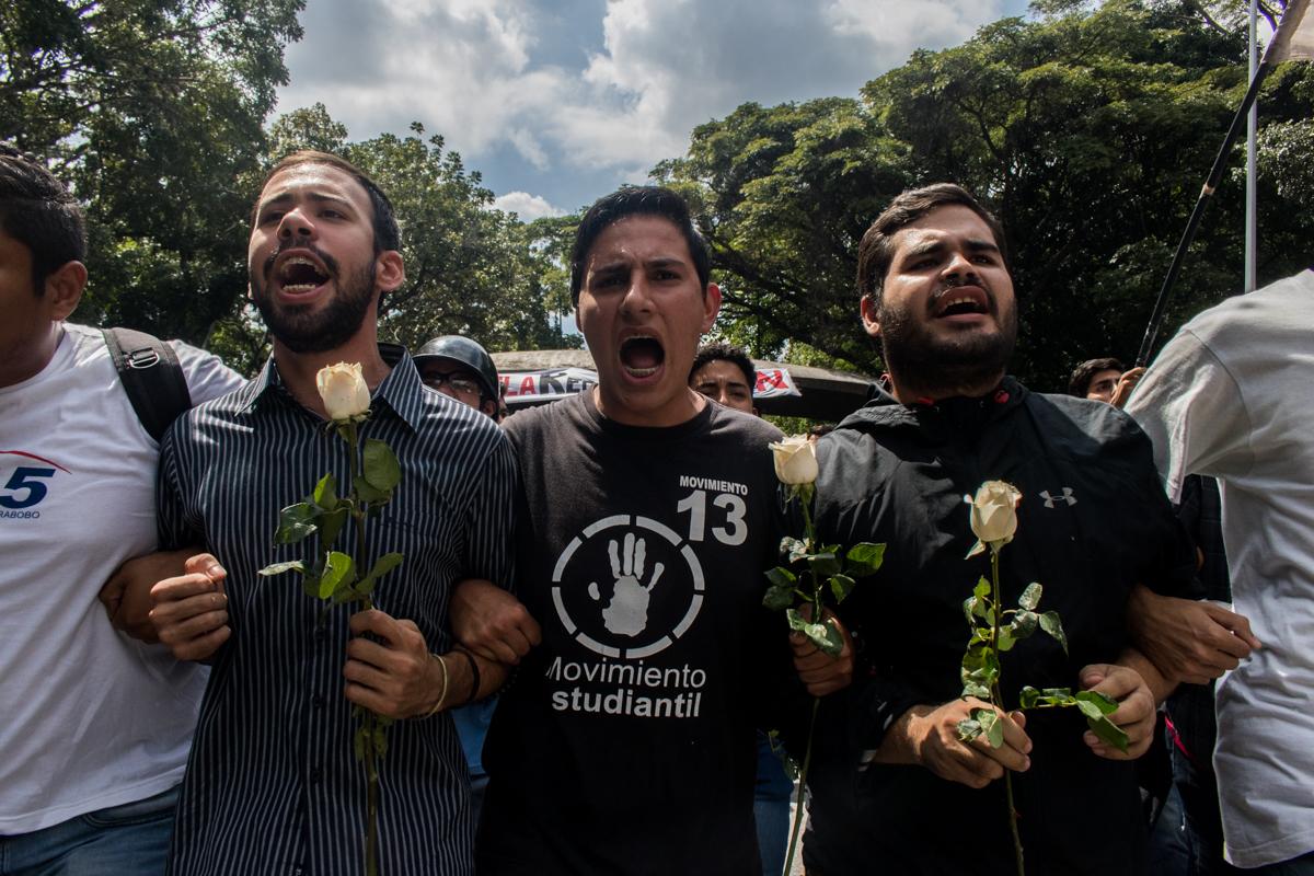 protesta ucv 14 noviembre