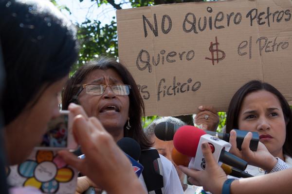 Protesta de enfermeras - Ana Rosario Contreras