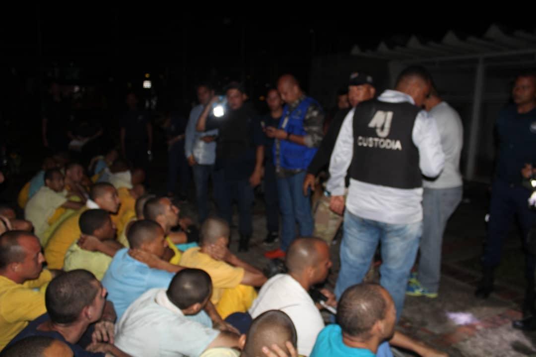 Ministerio Penitenciario anuncia liberación de custodios secuestrados en cárcel de Santa Ana - Efecto Cocuyo