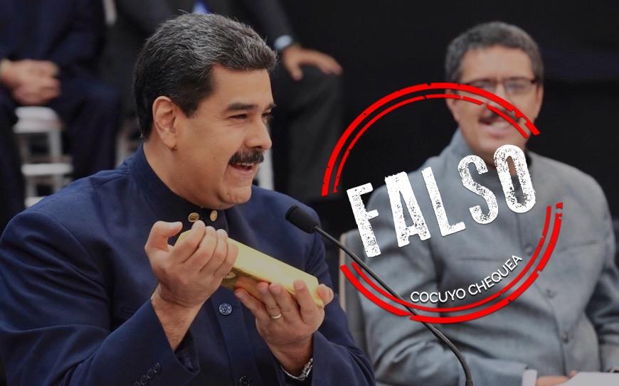Maduro ya había inaugurado en 2018 una planta de procesamiento de oro