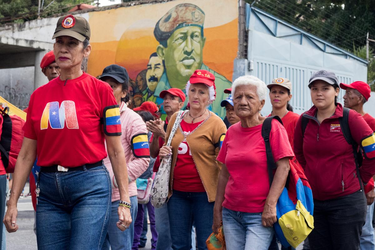 marcha chavista enero 2020