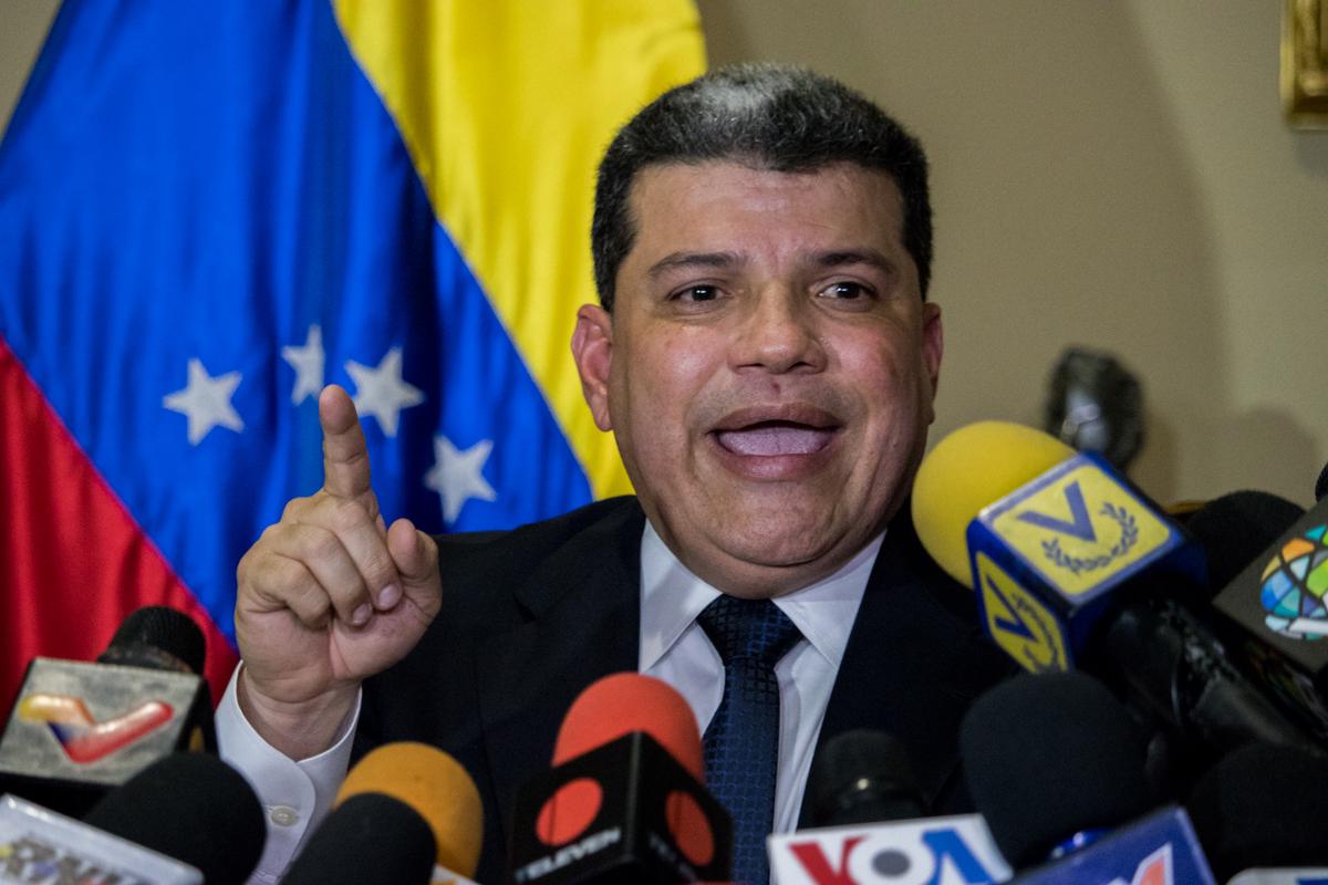 """""""Las sanciones no nos sacarán de las calles para las elecciones"""", dijo Luis Parra"""