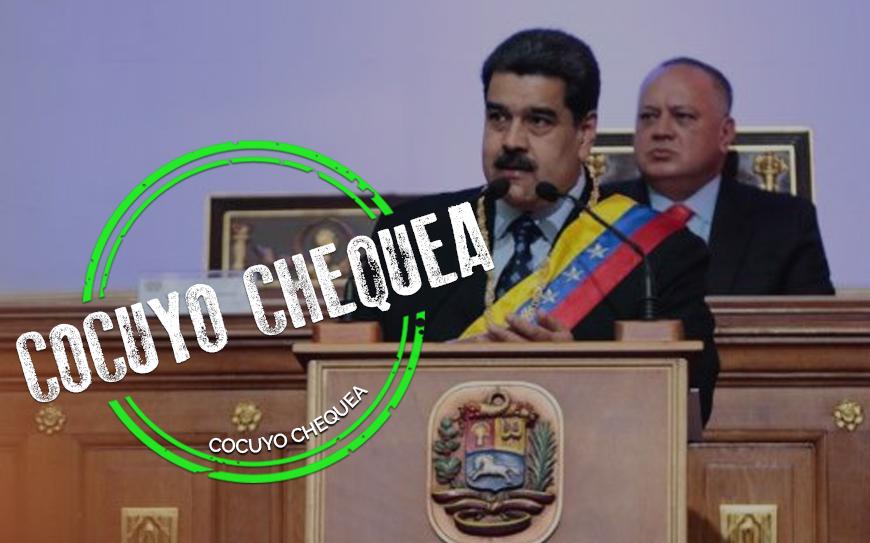 Nicolás Maduro presentó su memoria y cuenta 2019 ante la ANC
