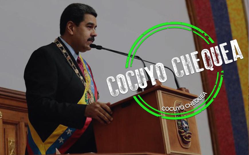 Lo cierto, dudoso y falso de la Memoria y Cuenta 2020 de Nicolás Maduro
