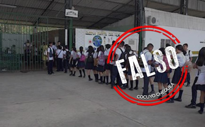 """Cadena sobre """"cubanización"""" de la educación venezolana es de 2001"""